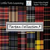 Tartan Plaid Digital Papers - Tartan Plaid Backgrounds - C