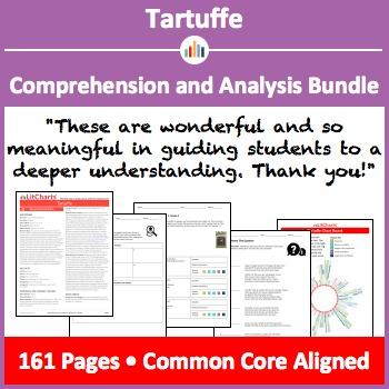 Tartuffe – Comprehension and Analysis Bundle