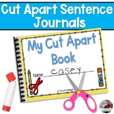 Cut Apart Sentence Mini Journals for Emergent Readers