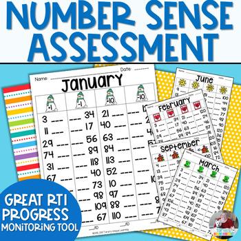 Number Sense Assessment- 1-120