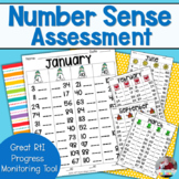 Number Sense Assessment- 1-120