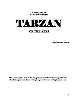 Tarzan Study Guide