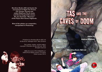 Tas and the Caves of Doom– Easy-reading adventure for reluctant-reader boys