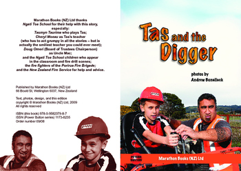 Tas and the Digger – Easy-reading adventure for reluctant-reader boys
