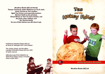 Tas and the Hokey Pokey – Easy-reading adventure for reluctant-reader boys