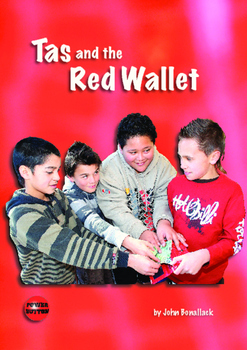Tas and the Red Wallet – Easy-reading adventure for reluctant-reader boys