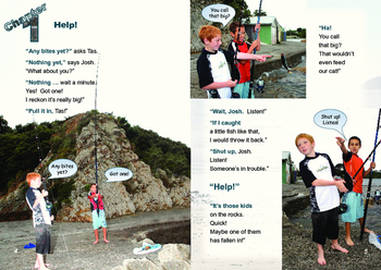 Tas and the Sea Rescue – Easy-reading adventure for reluctant-reader boys