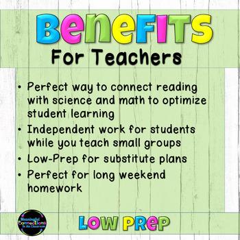 Tasha and Tio Prepare for a Hurricane: No-Prep Literacy Packet