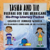 Tasha and Tio Prepare for a Hurricane: No-Prep Literacy Packet
