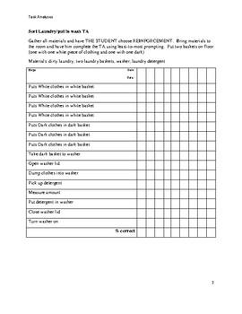 Task Analyses 2