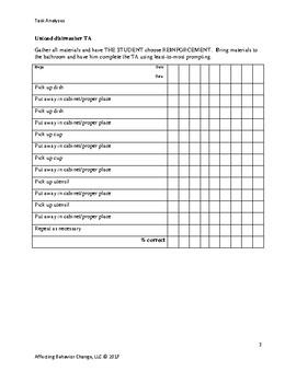 Task Analyses 3