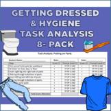 Task Analysis Bundle (Hygiene and Getting Dressed)