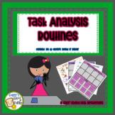 Task Analysis Cards