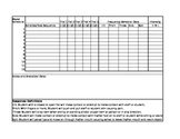 Task Analysis/Schedule and behavior data sheet