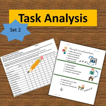 Task Analysis-Set 2-Data Collection, Visual Instruction, Progress Reports