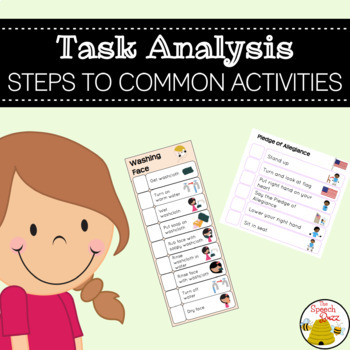 Task Analysis Steps To Common Activities In The Autism Classroom