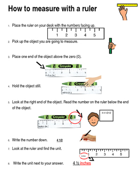 Task Analysis for Using a Ruler