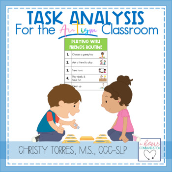 Task Analysis for the Autism Classroom