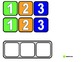 """Task Bin Number Strips"" for Autism"