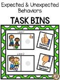 Task Bins - Expected & Unexpected Behaviors