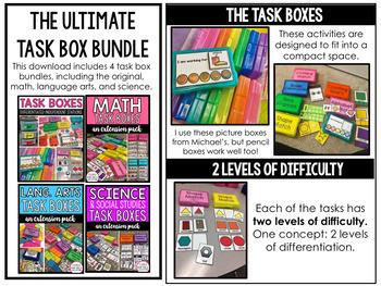 Task Box Bundle (The Original Bundle)