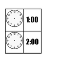 Task Box Cards for Drawing Time (Hour, half, and 15 minutes)