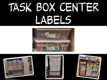 Task Box Center Labels