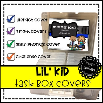 Task Box Covers - Lil' Kids Edition