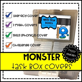Task Box Covers - Monster Edition