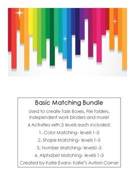 Task Box/File Folder Basic Matching