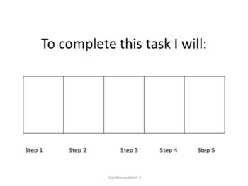 Task Box Instructions Sample