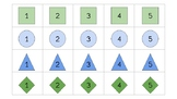 Task Box Labels -Blue and Green