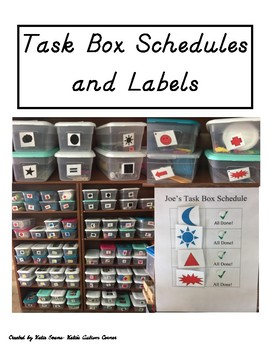Task Box Labels and Schedules