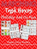 Task Card Matching - Christmas Holiday Pack