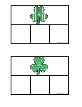 Task Card Matching - St. Patrick's Day Mini Pack