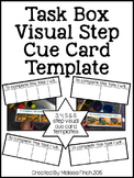 Task Box Visual Directions Templates- For Autism Programs