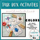 Task Boxes For Special Education- Colors
