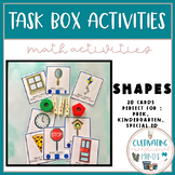 Task Boxes For Special Education- Shapes