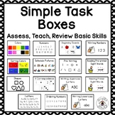 Task Boxes for Basic Skills