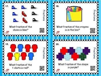Task Card BUNDLE! 4 Complete Sets!  (2nd-3rd Math)