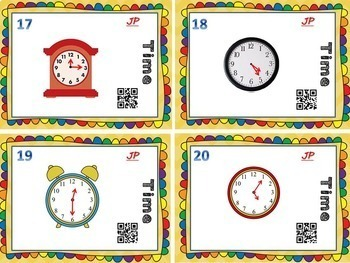 Task Card BUNDLE! 8 Complete Sets w/ QR Codes!  (2nd-3rd Math)