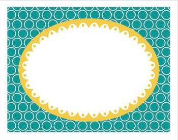 Task Card Backgrounds (Orange, Teal,  Yellow)