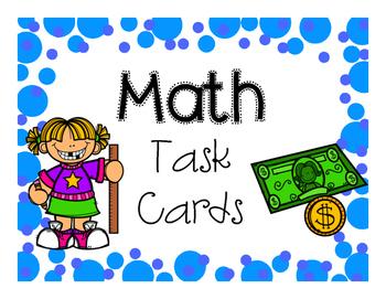 Task Card Bin Labels