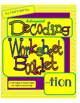Advanced Decoding Task Card Booklet TION