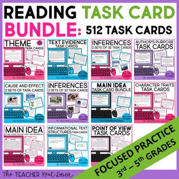 Reading Task Cards Mega Bundle