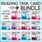Reading Task Card Bundle | Print and Digital | Distance Learning