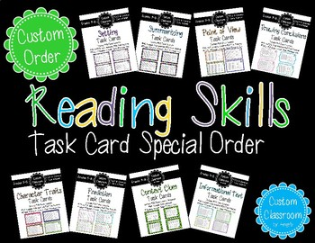 Task Card Bundle Custom Order