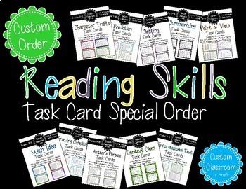 Task Card Bundle Custom Order