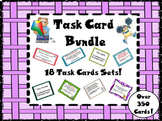 Grammar Skills ELA Word Work Task Cards Packet