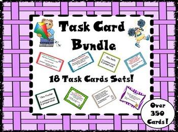 Task Card Bundle - English Language Arts